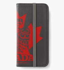 Canada Red Eagle iPhone Wallet/Case/Skin