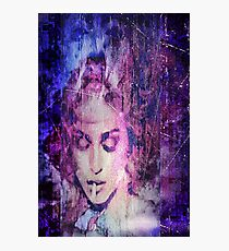 Madonna 2 face abstract Photographic Print