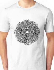 lace circle_black Unisex T-Shirt