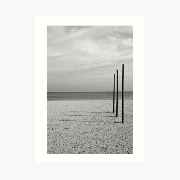 Three Almost Right Angles Art Print