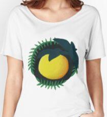 Yuzu Botanical Painting Women's Relaxed Fit T-Shirt