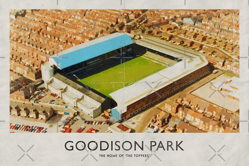 Vintage Football Grounds - Goodison Park (Everton FC) by twelfthman
