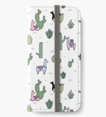 Cacti Llamas iPhone Wallet/Case/Skin