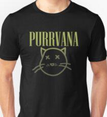Purrvana (Green Gradient)  Unisex T-Shirt