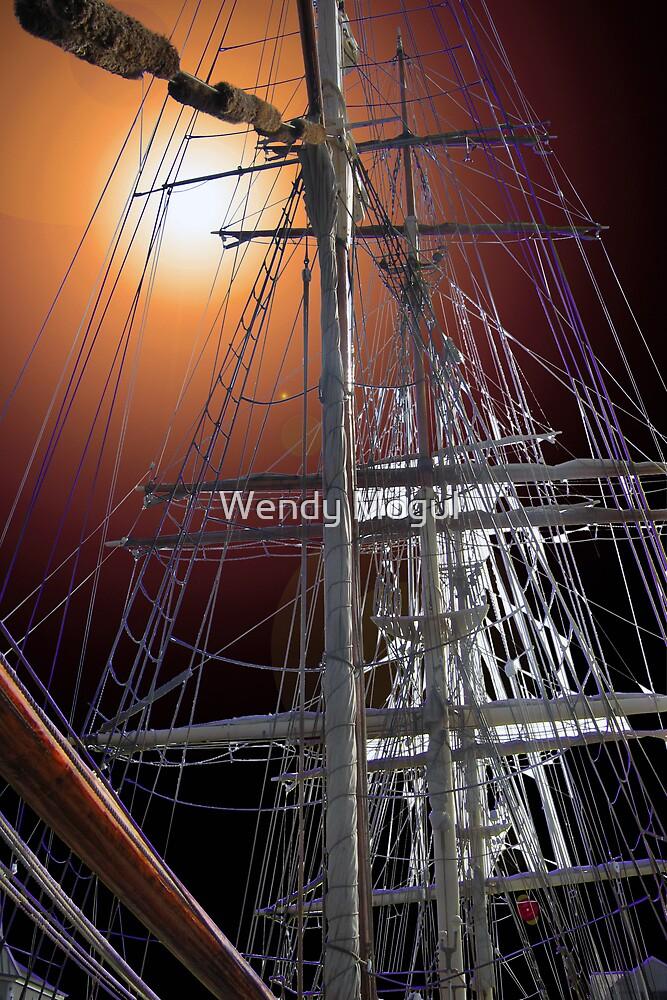 Sailing Ship by Wendy Mogul