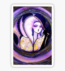 Purple ,,,,,House of Harlequin Sticker