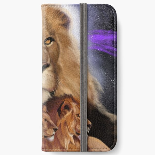 Big Cat Series #2 - Lions iPhone Wallet