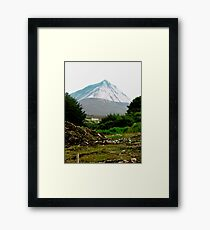 Another view of Mount Errigal, Donegal, Ireland Framed Print