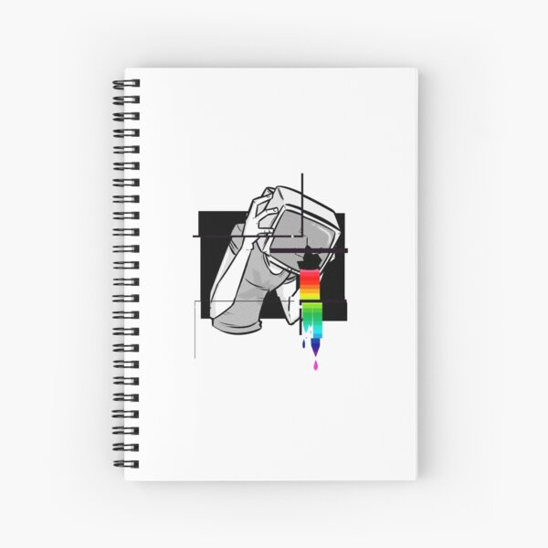 Brainwash  Spiral Notebook