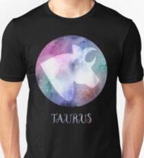Watercolor Zodiac Taurus Sign Unisex T-Shirt