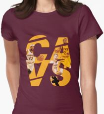 Cavs Champs Womens Fitted T-Shirt