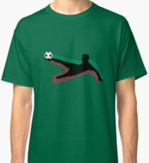 Soccer Green Red Classic T-Shirt