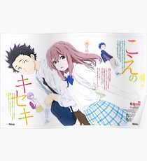 Koe No Katachi A Silent Voice Poster