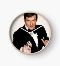 Rip Roger Moore Bond Clock