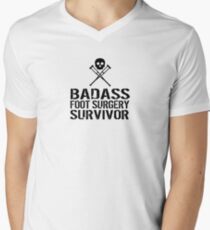 Badass Foot Surgery Survivor T-Shirt