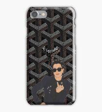 Kris Jenner X Black Goyard iPhone Case/Skin