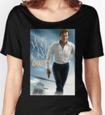 Rip Roger Moore Bond Women's Relaxed Fit T-Shirt