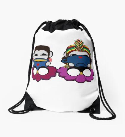 STPC: Naka Do & Oyo Yo (Truth & Sipping Tea) Drawstring Bag