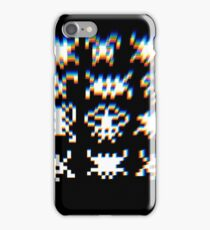 Space invaders (screen quality 2) iPhone Case/Skin