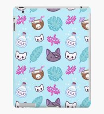 Pirate Cat // Turquoise iPad Case/Skin