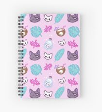 Pirate Cat Spiral Notebook