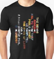 Radiohead - Album Design (Vertical #1) T-Shirt