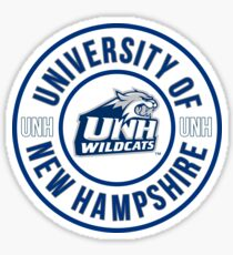 UNIVERSITY OF NEW HAMPSHIRE  Sticker