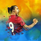 Classic Ibrahimović by Mark White