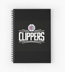 logo clippers Spiral Notebook