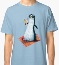 tropical dream in the summer of a penguin Classic T-Shirt