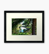 Forster Lake Framed Print