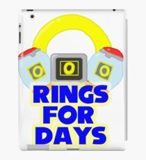 Rings For Days iPad Case/Skin