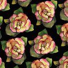 «Rose es una rosa es una rosa es una rosa por dotsofpaint» de dotsofpaint