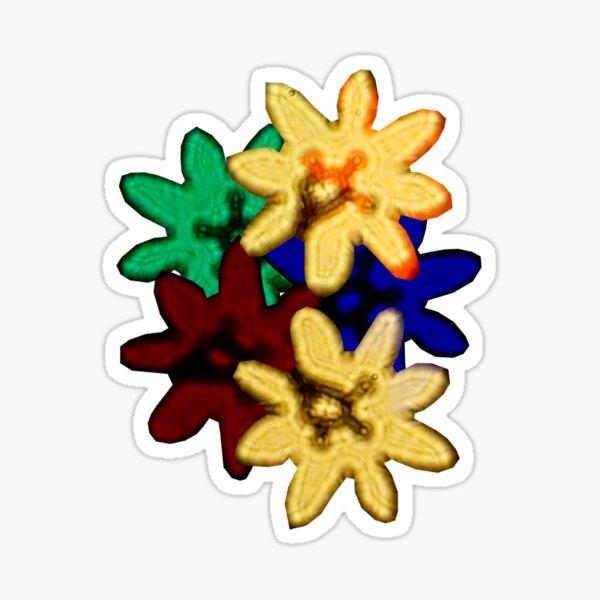 Bokeh Bouquet Sticker