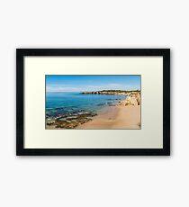 Praia da Rocha in Portimao, Algarve Framed Print