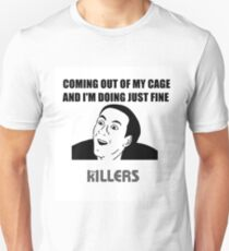 The Killers Caged Unisex T-Shirt