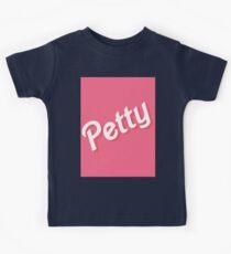 pink petty Kids Tee