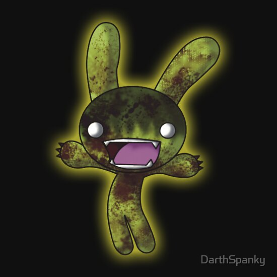 TShirtGifter presents: Tombie the Zombie Bunny