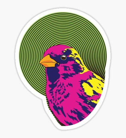 Sparrow Spectrum Sticker