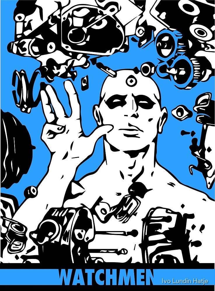Dr. Manhattan Blue by Ivo Lundin Hatje