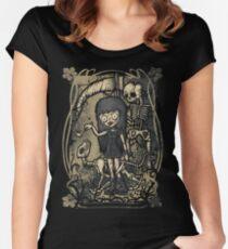 In The Darkness Women's Fitted Scoop T-Shirt