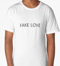 Fake Love Long T-Shirt