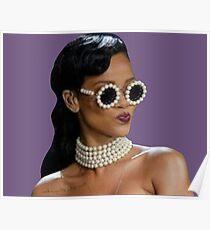 Sassy Rihanna Poster