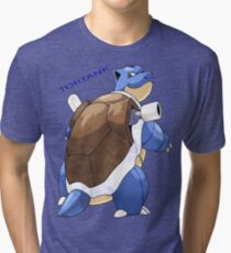Tortank, Pokemon Tri-blend T-Shirt