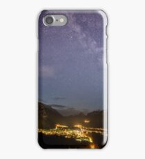 So Small Under the Starry Sky iPhone Case/Skin