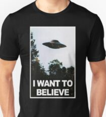 I want to believe // x files T-Shirt
