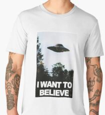 I want to believe // x files Men's Premium T-Shirt