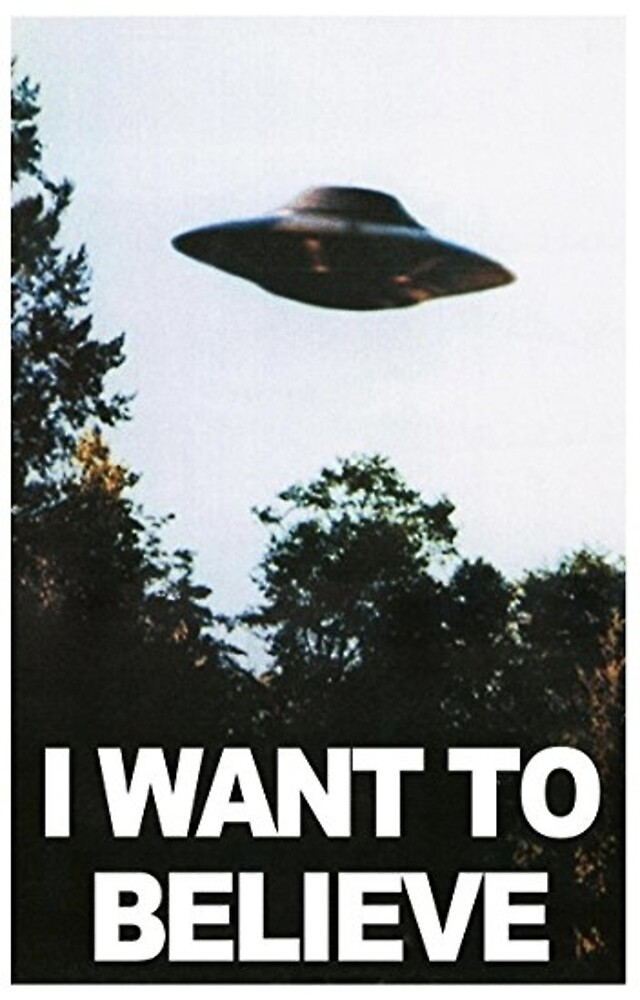 I want to believe // x files by gvldjxnny