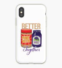 Vinilo o funda para iPhone P, B & J ... ¡Mejor juntos!
