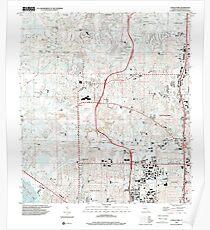 USGS TOPO Map Florida FL Citrus Park 345518 1998 24000 Poster